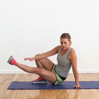 No Gym Required Travel Tabata Workout (Bodyweight!) + Protein Powders We Love