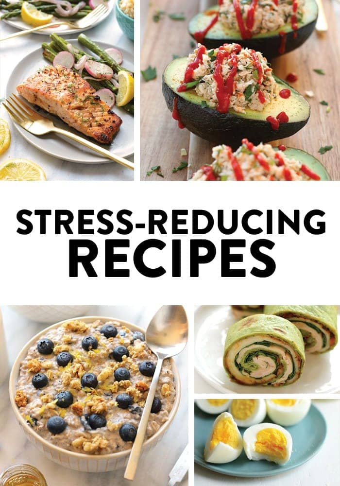 This collection of recipes for reducing stress will calm your nerves from the inside out. Fuel your body with nutrient-rich foods to be one step ahead of the stress. BONUS: To increase those stress-blasting hormones, pair these recipes with a killer workout.