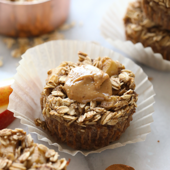Video: Meal Prep Apple Chai Oatmeal Cups