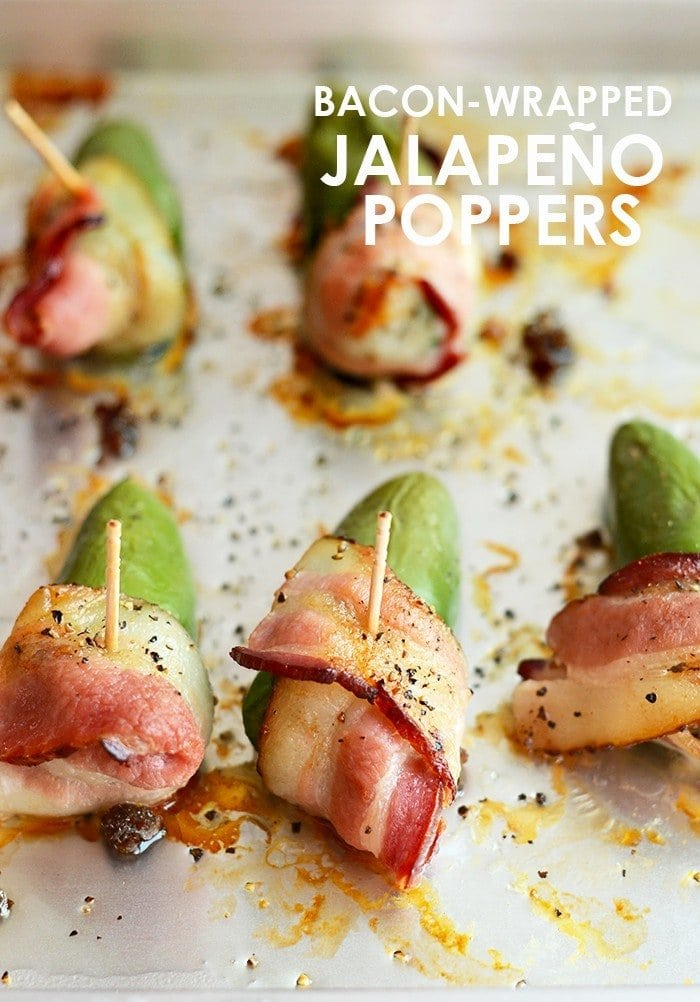 It's time to spice up your appetizers with these paleo-friendly bacon-wrapped jalapeño poppers! All you need are a few ingredients and 30 minutes!