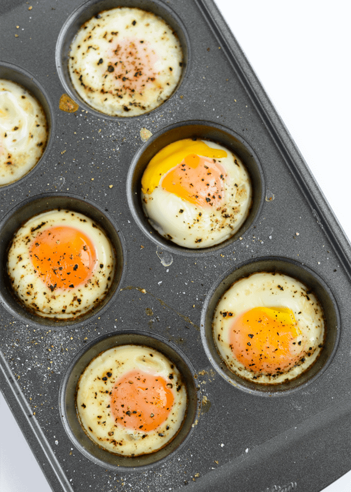 How to Bake Eggs in the Oven. Baked eggs are the perfect healthy breakfast or snack. So easy and little clean-up!