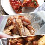 buffalo baked chicken wings