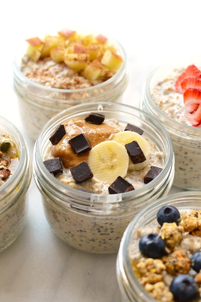 If you're worried about the time it takes to meal prep, keep it simple with these healthy meal prep recipes with 9 or less ingredients! These breakfast, lunch, dinner and snack recipes are nutritious, tasty and easy to make.