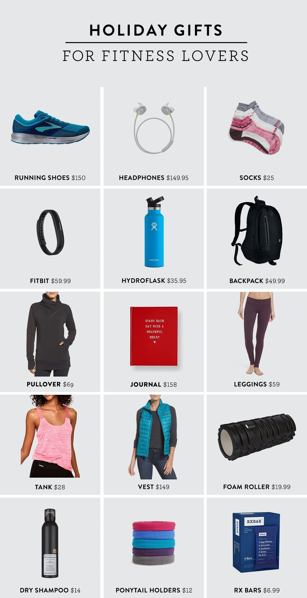 Looking to wow the fitness lover in your life this holiday season? We can bet she will love any of these holiday gifts for fitness lovers. Guarantee her a successful sweat sesh with this new gear!