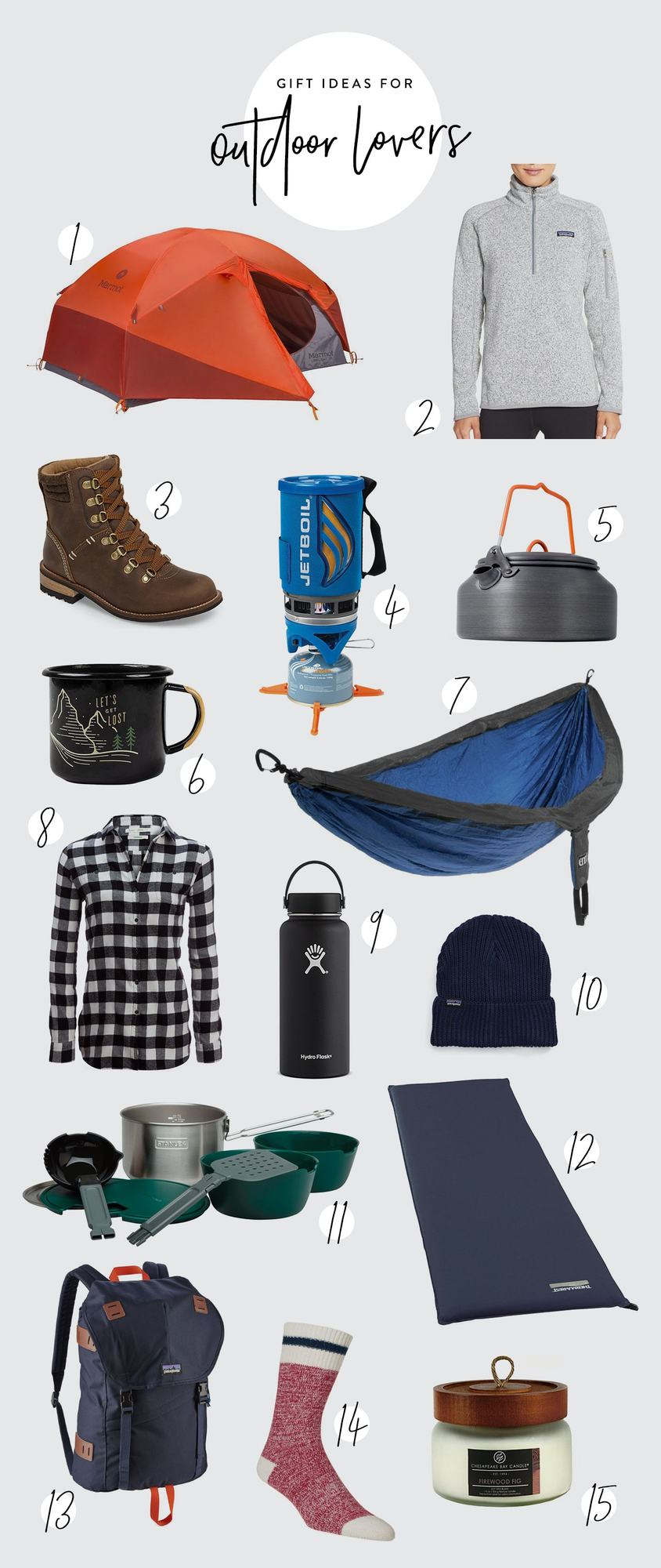 Gift Ideas for Outdoor Lovers: Get your favorite outdoor-lovin' lady outside this season by giving her one of our favorite gifts for outdoor lovers. We've collected the essentials to make sure she is prepared to enjoy mother nature with ease!