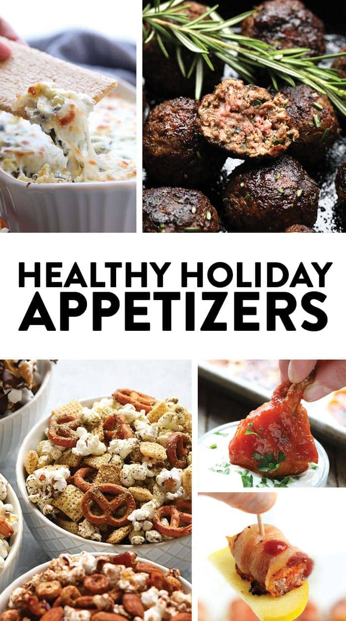Master this holiday season by making one of these healthy holiday appetizers. Whether you are hosting or attending the party, these starters are great for any holiday get-together. Each appetizer is packed with flavor, healthy, and easy to make!
