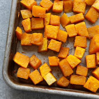 Kitchen Hack: How to Cut and Roast Butternut Squash