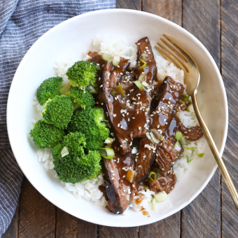 How to Make Healthy Mongolian Beef in the Sous Vide