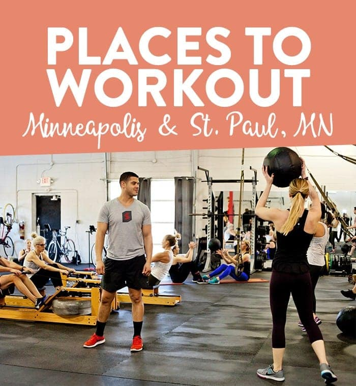 Places to Workout in Minneapolis and St. Paul