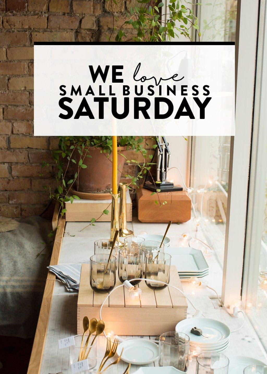 Today I am teaming up withSprint®Business to encourage all of you to give back to your local community and shop local on not just Small Business Saturday, but every day!