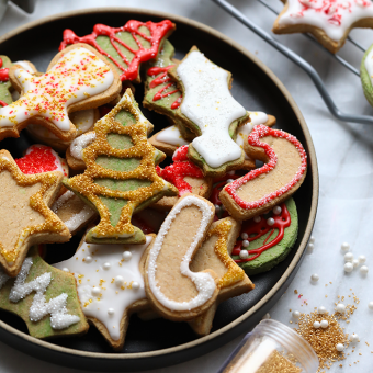 VIDEO: How to Make Healthy Holiday Sugar Cookies (grain-free, gluten-free)