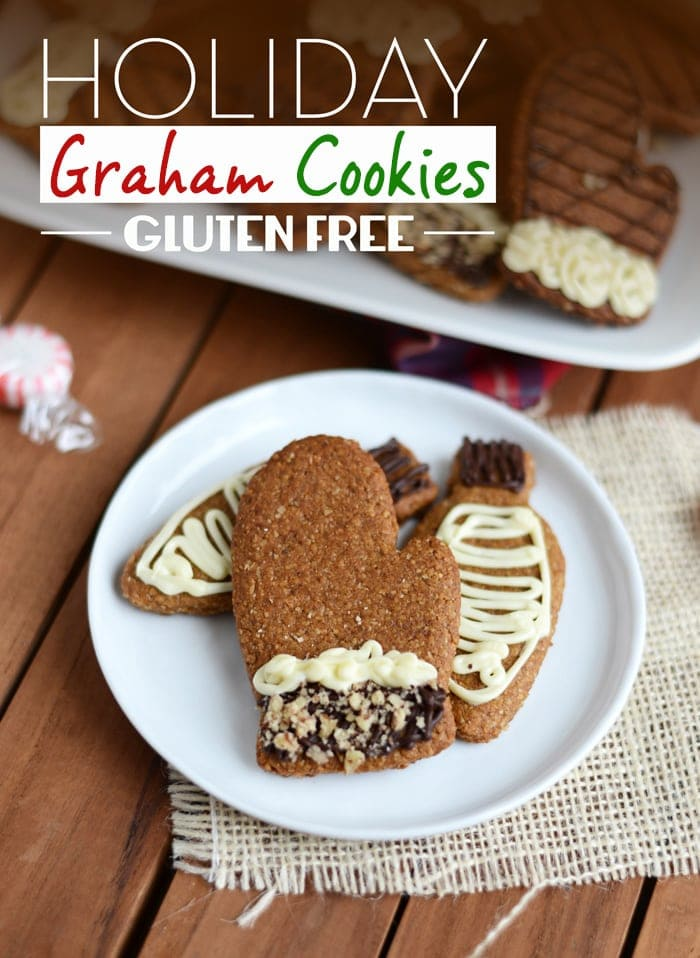 Spread the holiday cheer with these festive and tasty, gluten-free holiday graham cookies!