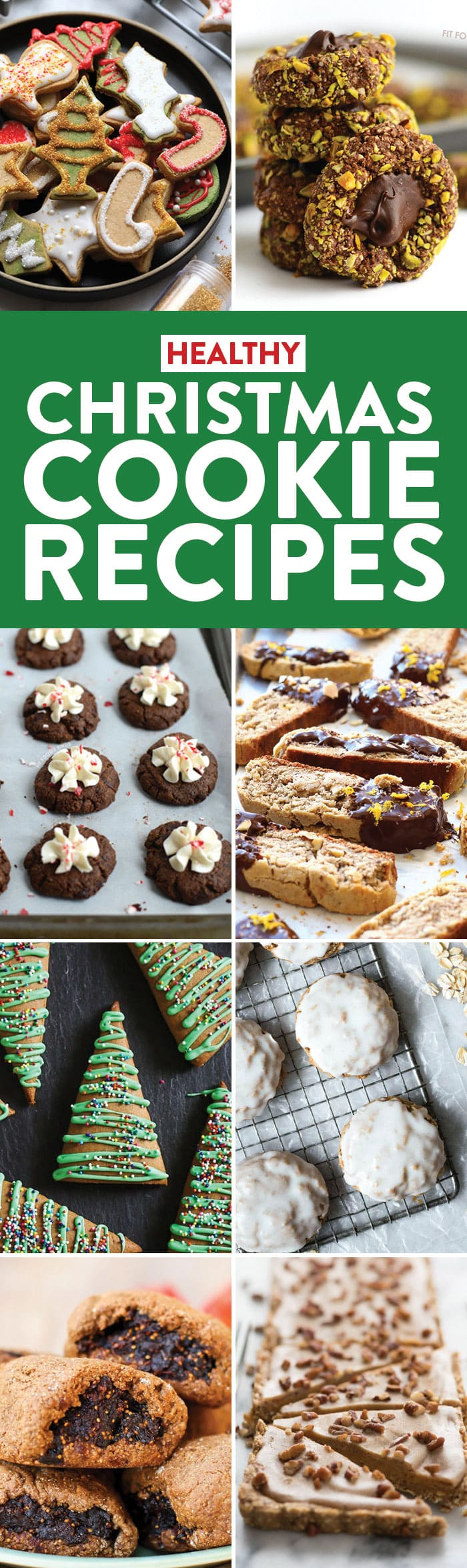 We've rounded up 50 of the healthiest and most delicious holiday cookie recipes for all of the healthy cookie inspiration you'll need this holiday season! From unique recipe ideas to healthy twists on holiday cookie classics, these tasty treats will not disappoint.