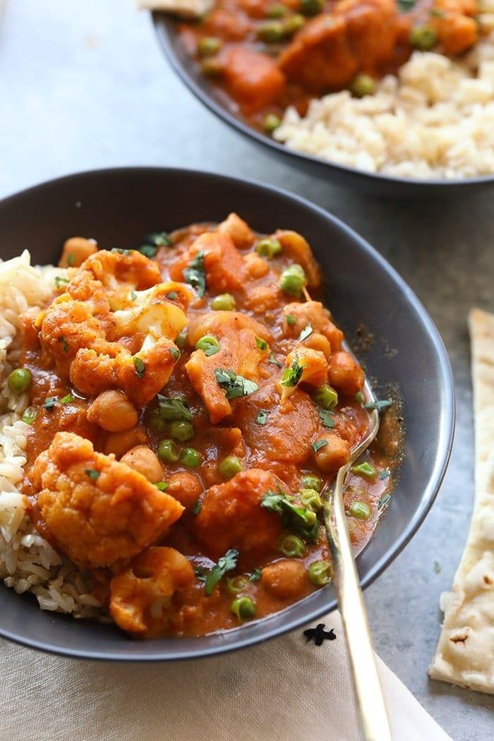 Tikka masala recipe in a bowl