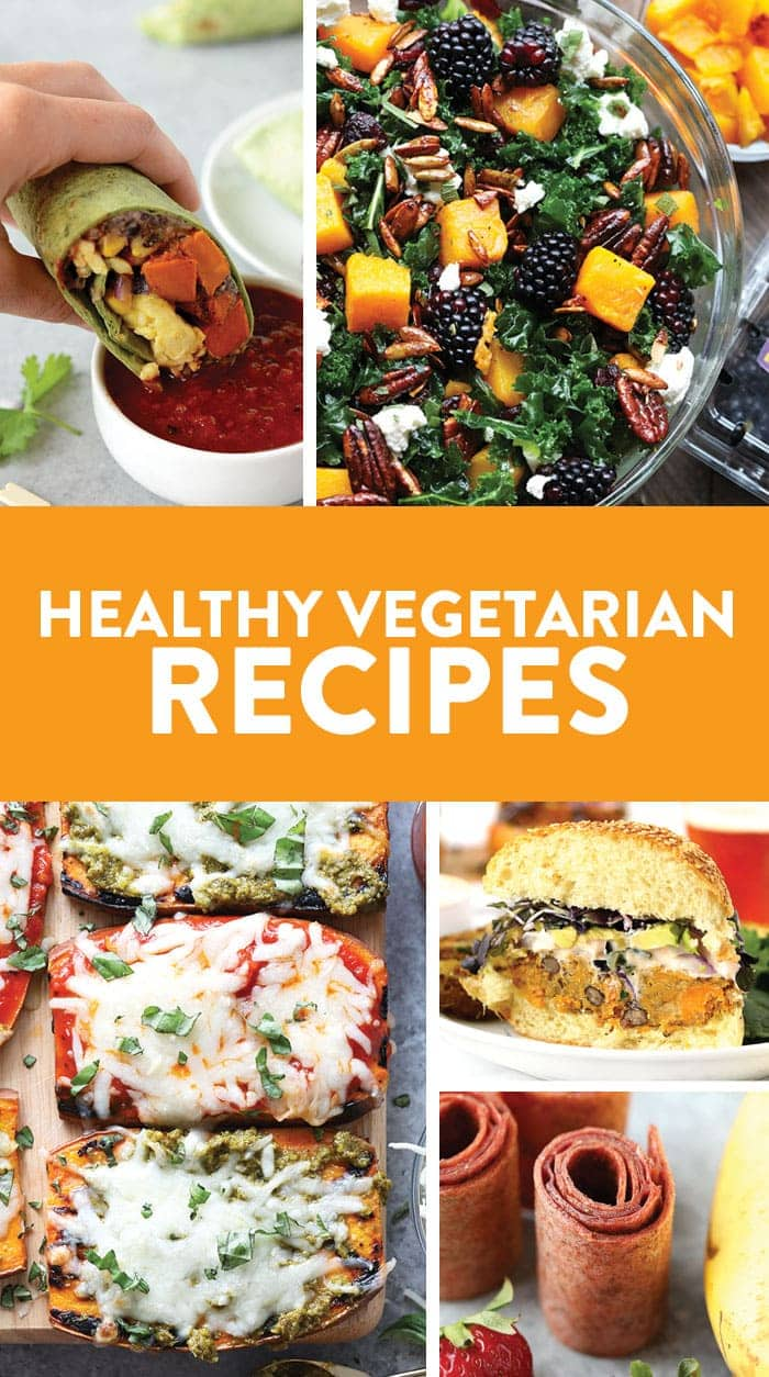 Add some creativity to your meatless meals with our favorite healthy vegetarian recipes! We've included flavor-packed breakfast, lunch, dinner and snack recipes for several vegetarian options to keep you satisfied all day long.