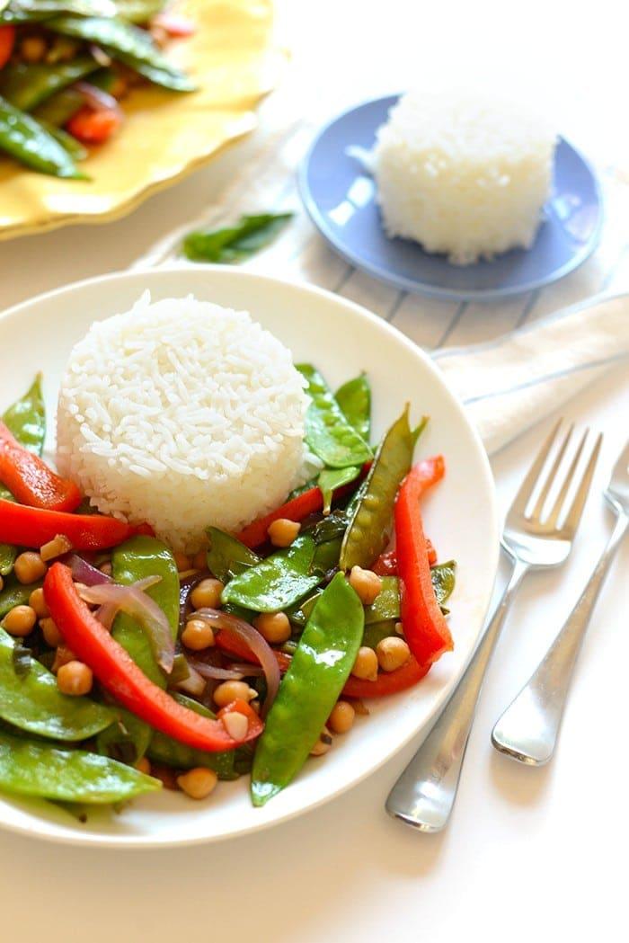 Thai Basil Stir Fry