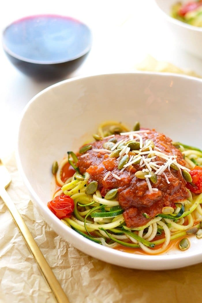 Get inspired to use yourspiralizer and make these roasted, flavorful spiralized vegetables. PLUS, 20 ways to take your spiralized veggies to the next level by turning them into yummy, nutrient-packed recipes bursting with flavors!
