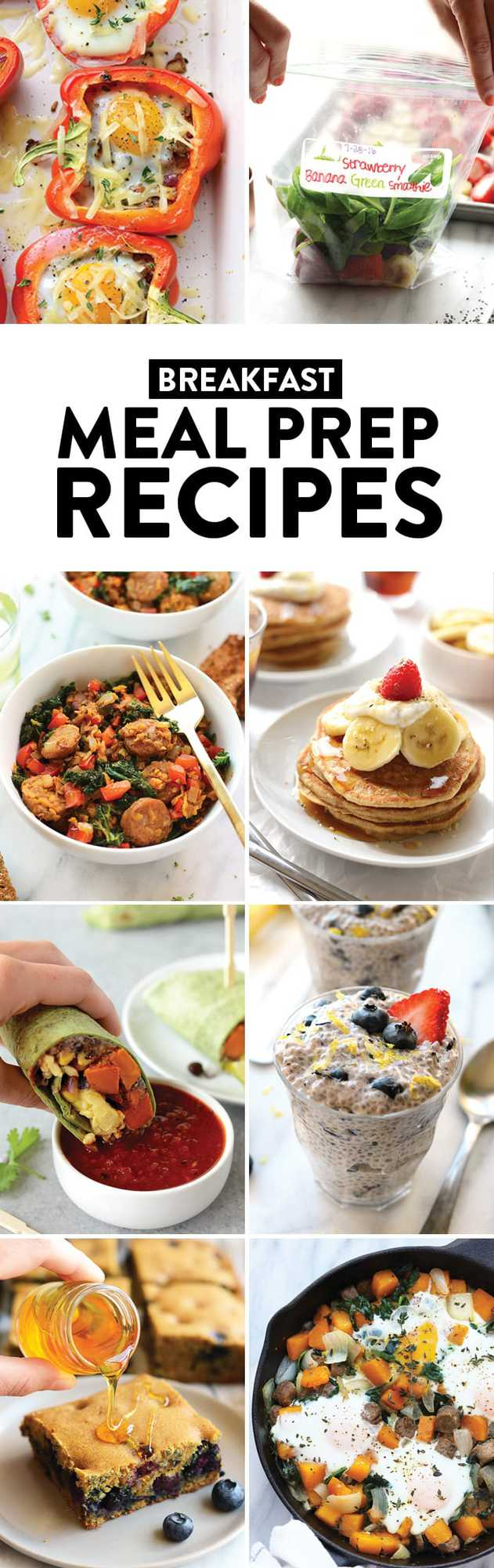 Meal prepped breakfasts are the perfect way to start your morning with ease. Try one of these healthy and nutrient-packed recipes to fuel up and start the day off right!
