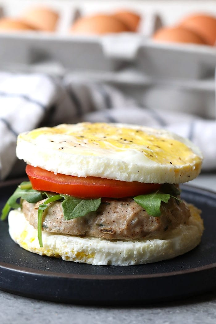 These Copy Cat Egg McMuffins are a perfect healthy breakfast.