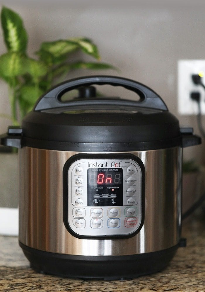 A photo of an instant pot