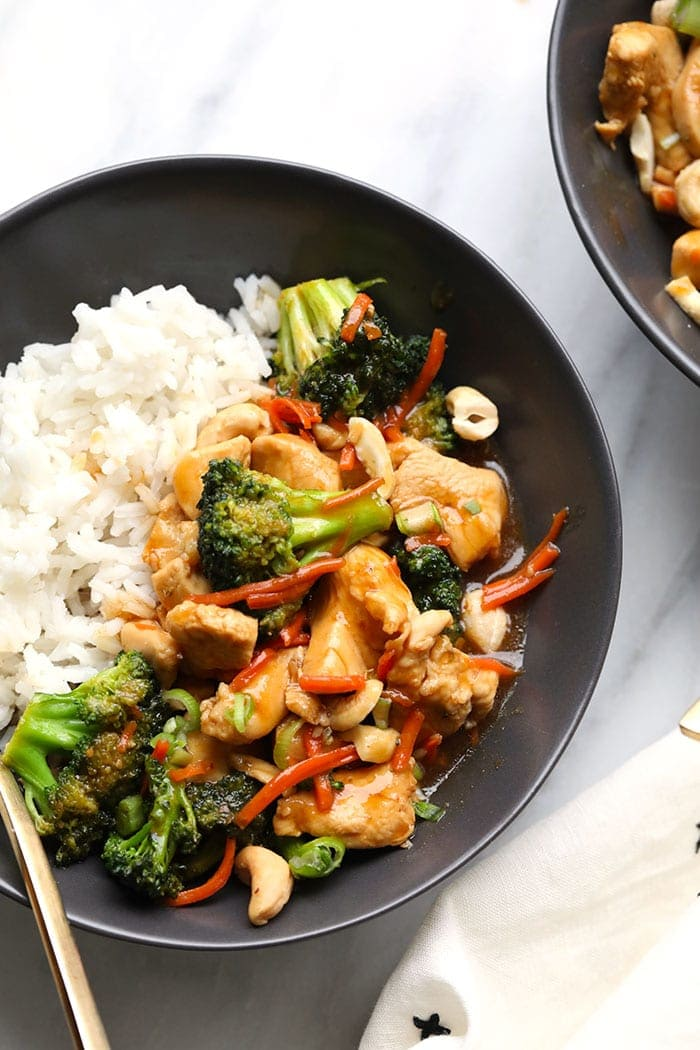 Honey Ginger Chicken Stir Fry Recipe Fit Foodie Finds
