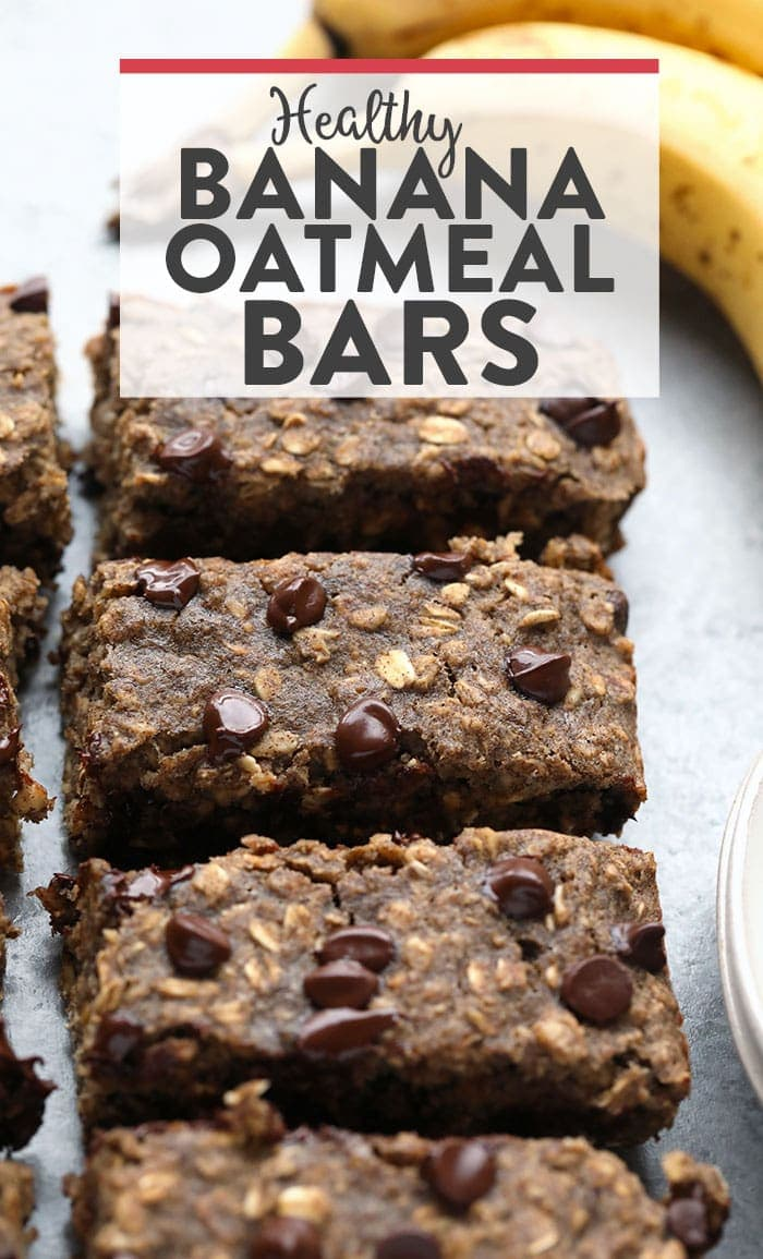 oatmeal bars with chocolate chips