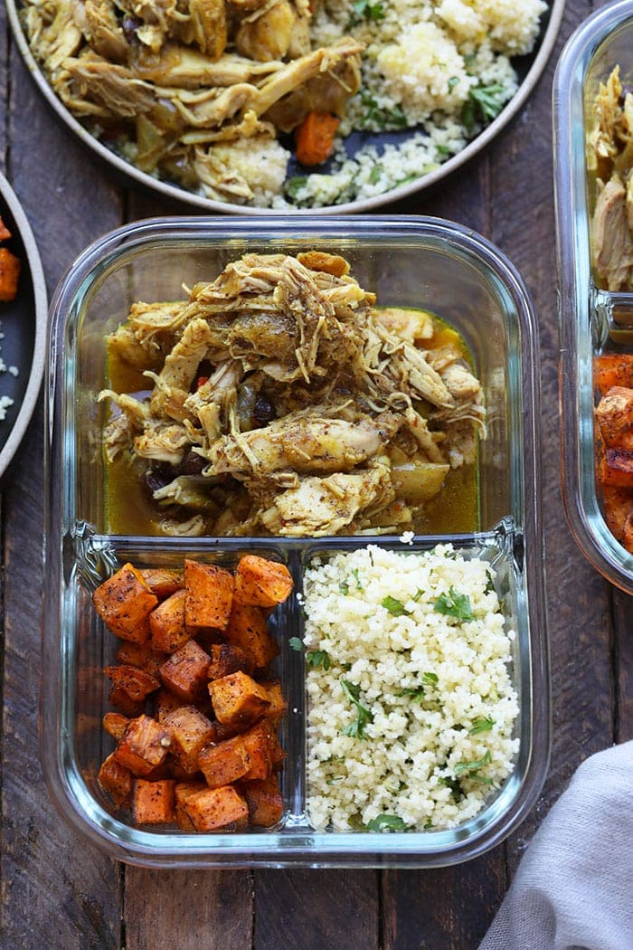 Instant pot moroccan chicken bowls video fit foodie finds friends with an instant pot its time to take 20 minutes to make this epic forumfinder
