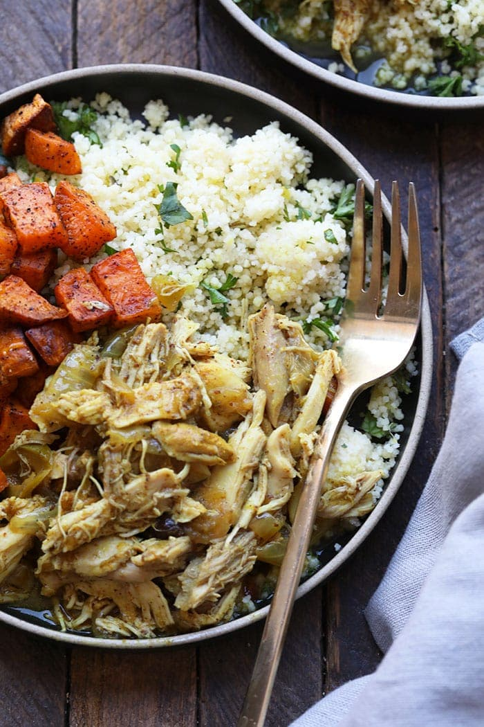 This Moroccan Chicken is a Perfect Healthy Weeknight Dinner!