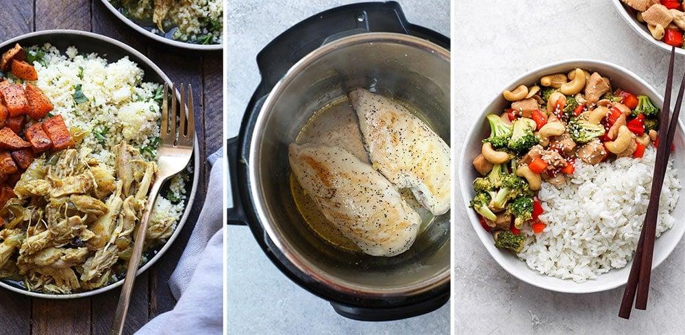 Healthy Instant Pot dinner recipes
