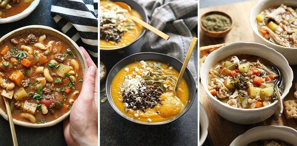 Healthy Instant Pot Soup Recipes