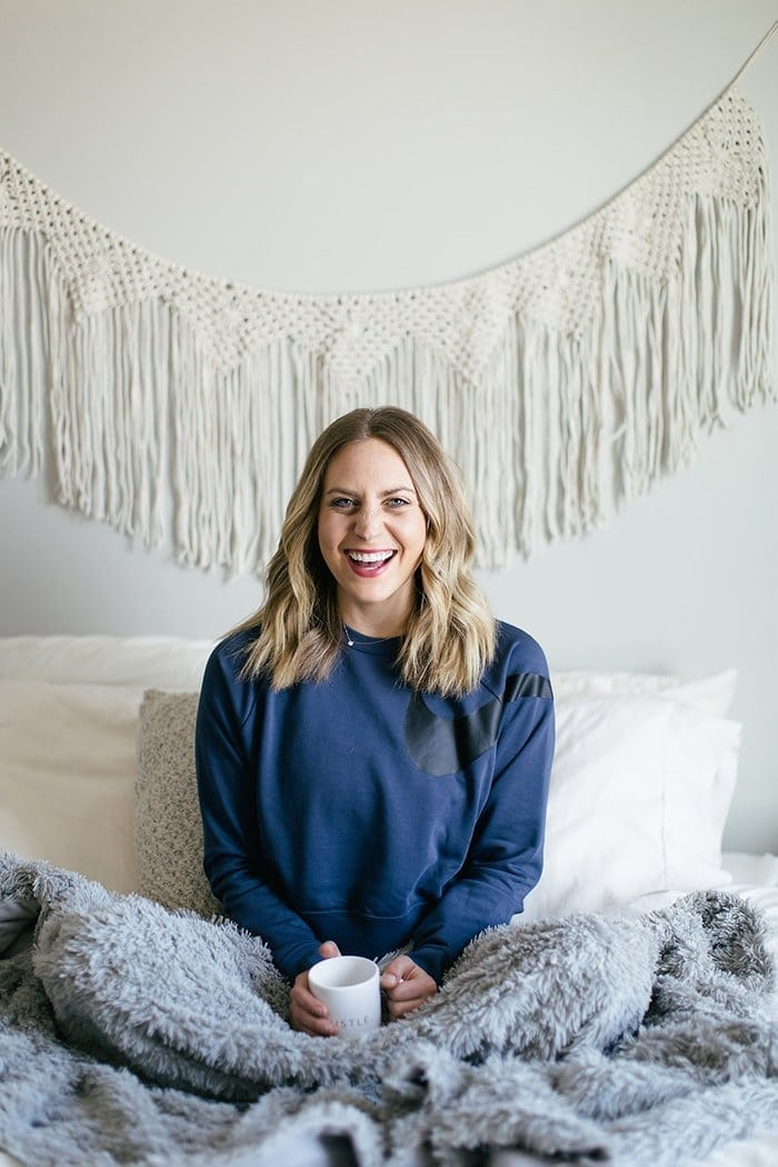 This isn't your average crew neck (can you tell I love crews?) because it's a crop crew neck! I've already been living in this thing day and night. You can lounge around with PJ bottoms on or wear it out with high-waisted jeans!