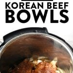 Instant Pot Beef Bowl Recipe