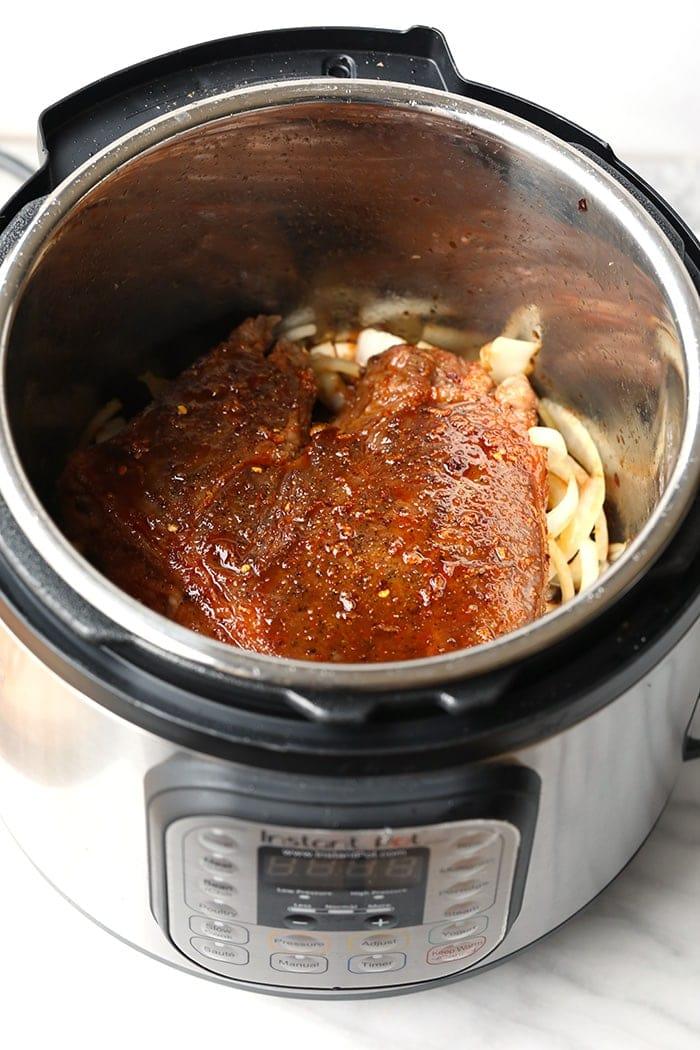Beef in Instant Pot