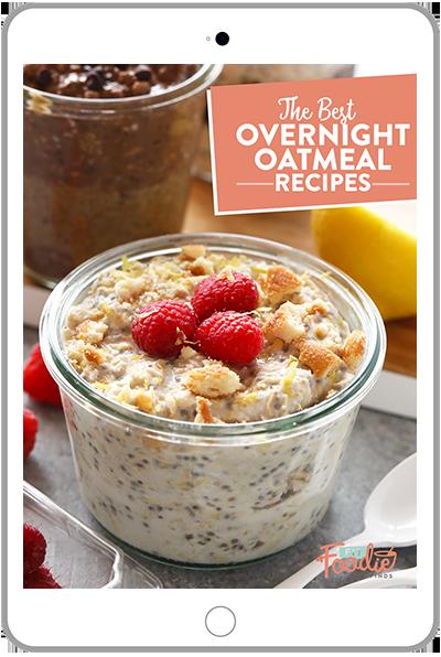 Overnight oats recipes in Ipad