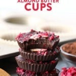 chocolate almond butter cups
