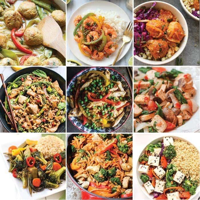Swap this week's take-out with one of our flavorful, veggie and protein-packed, healthy stir fry recipes. Make a few extra servings for a week of tasty healthy stir fry leftovers the whole fam can enjoy!