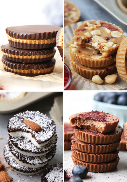 Can't decide what kind of nut butter cup to make? No worries! We've rounded up 6 healthy nut butter cup recipes from our first annual Nut Butter Cup Week. From delicious peanut butter cups to chocolatey almond butter cups, we've got a nut butter cup for everyone!