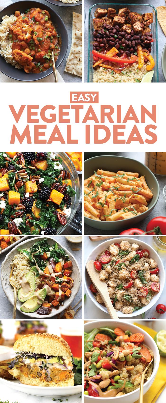 Easy vegetarian meal ideas