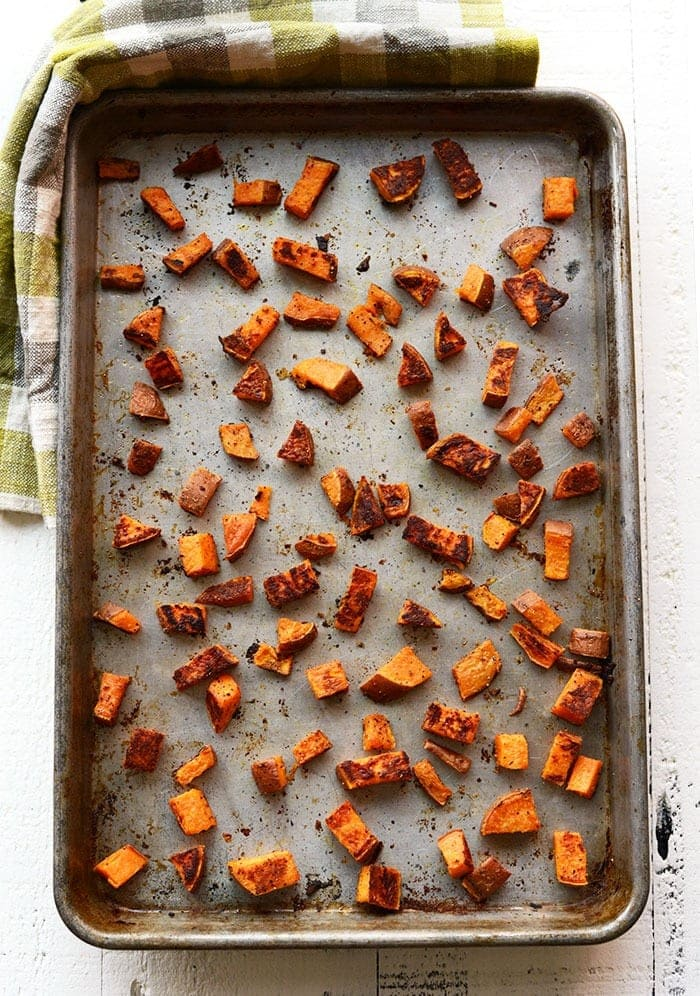 Perfect Roasted Sweet Potatoes Fit Foodie Finds