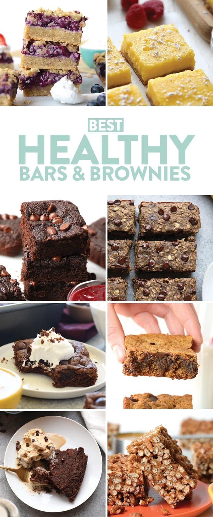 Healthy bars and brownies