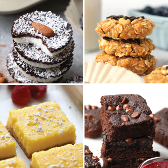 Our Best Healthy Dessert Recipes – gluten-free, paleo, vegan options {VIDEO}