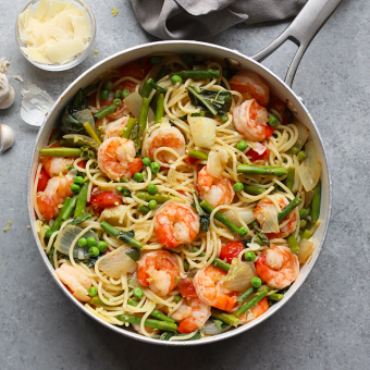 Asparagus Shrimp Scampi Recipe