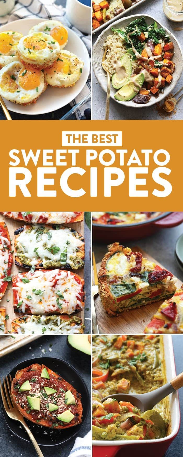 6 of the best sweet potato recipes.