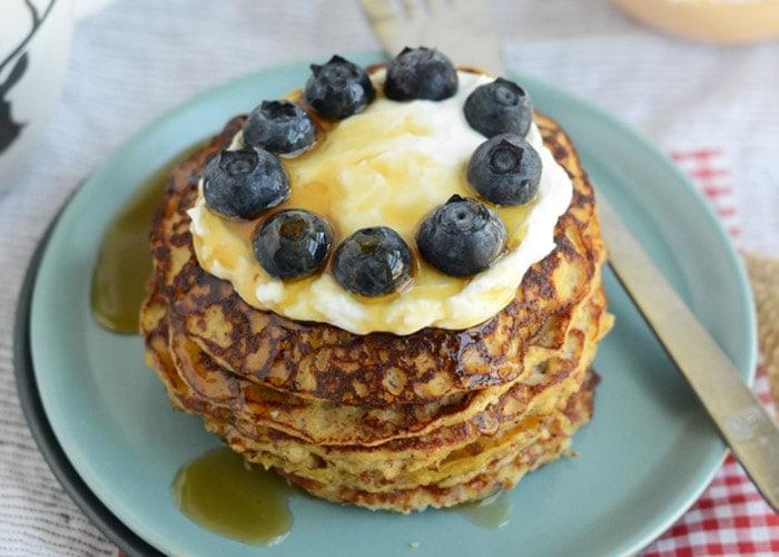 Grain-Free Applesauce Pancakes