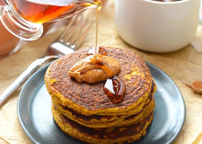 Grain-Free Pumpkin Pancakes