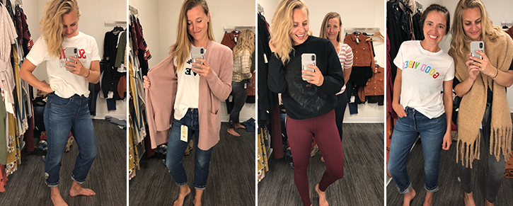 Women in Nordstrom Clothing