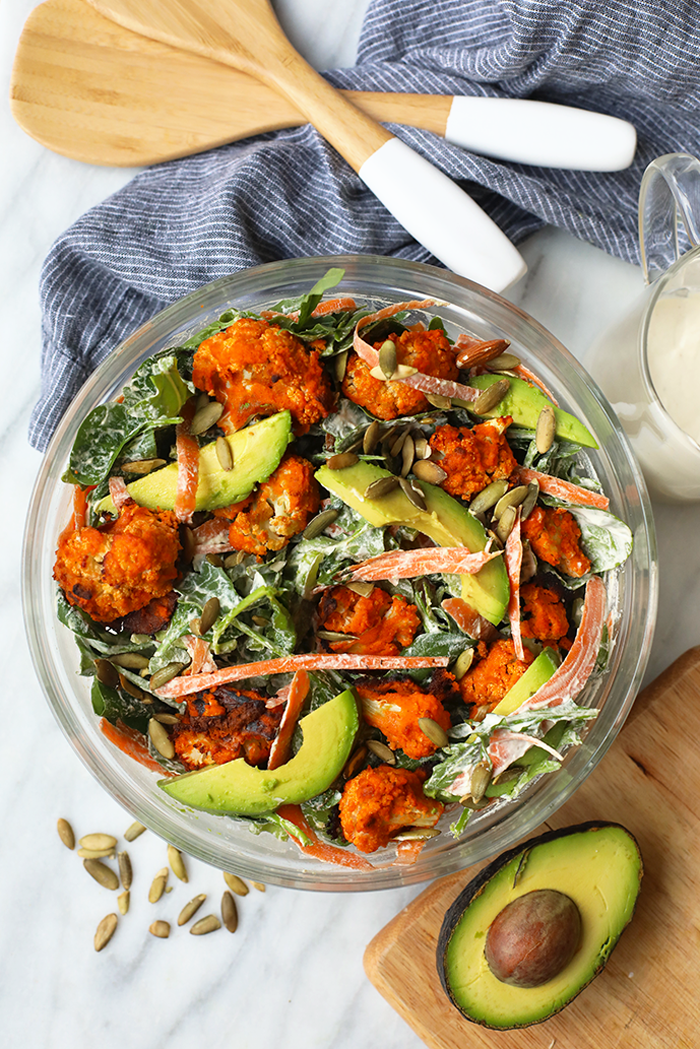 Vegan Cauliflower Salad