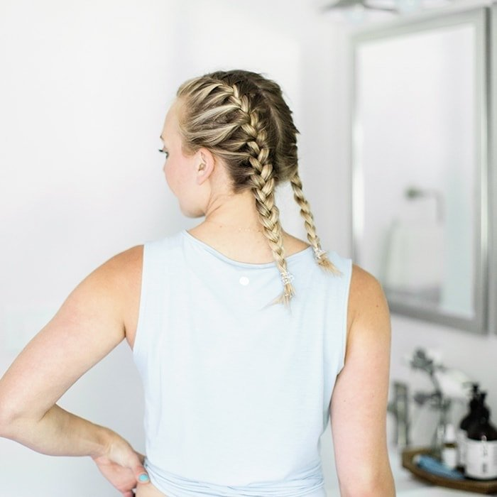 How To French Braid Your Own Hair Fit Foo Finds