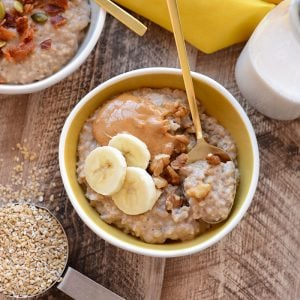 Crock-Pot Maple Cinnamon Oatmeal