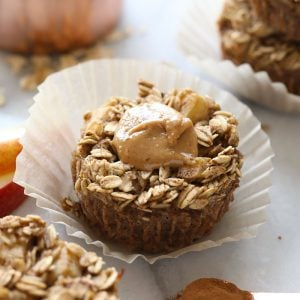 Apple Chai Oatmeal Cups